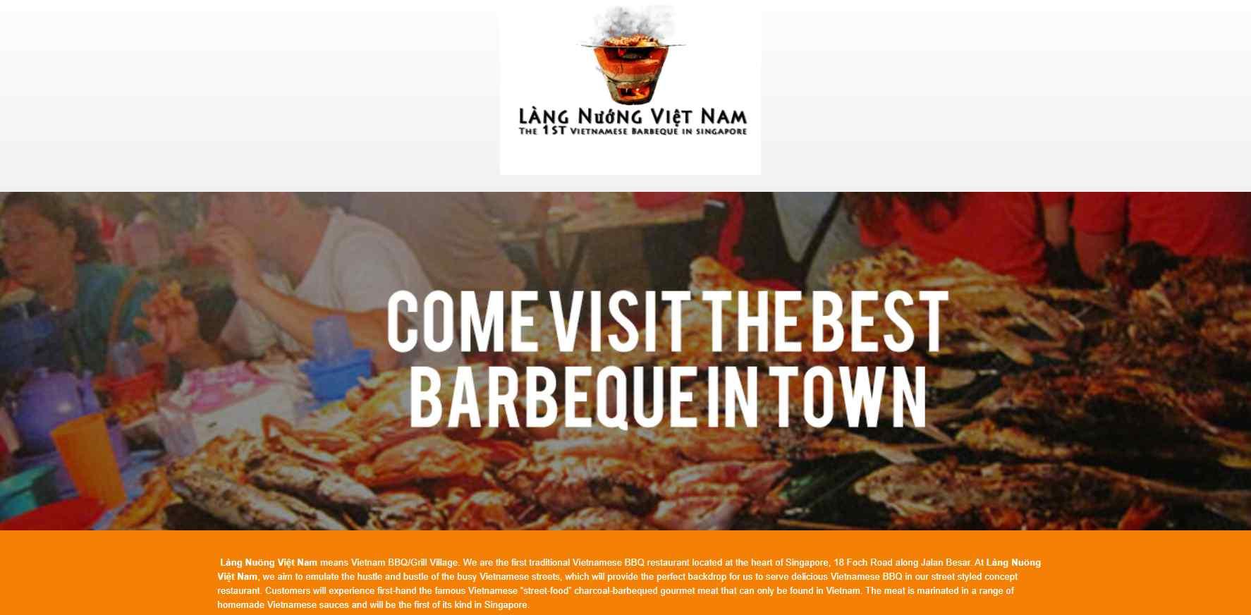 Lang Nuong Top Vietnamese Food Restaurants in Singapore