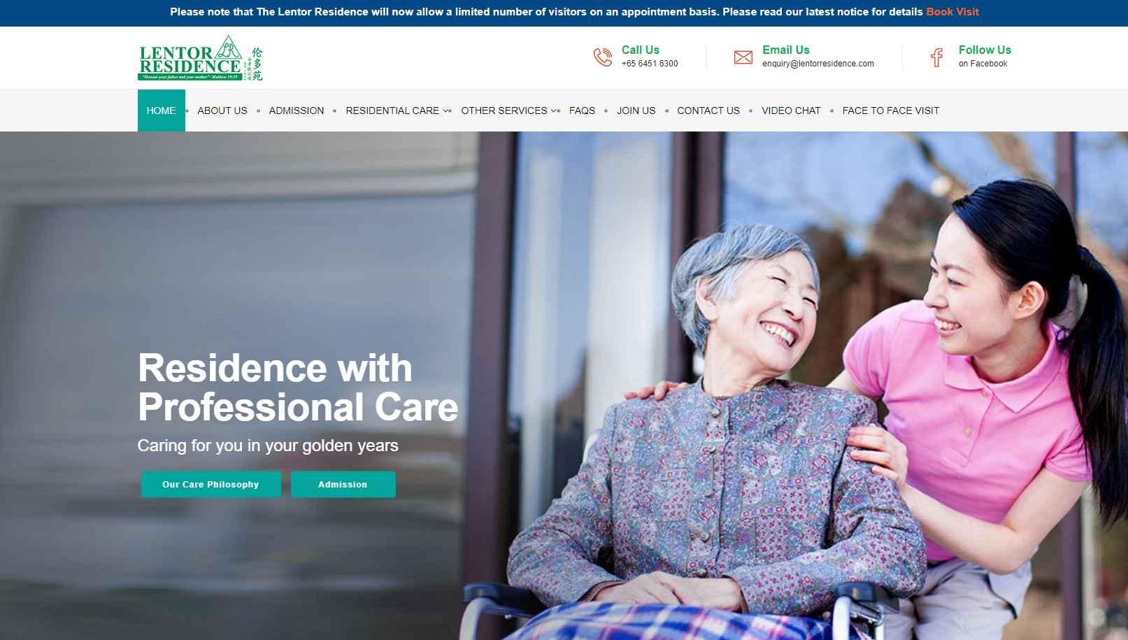 Lentor Residence Top Nursing Homes in Singapore