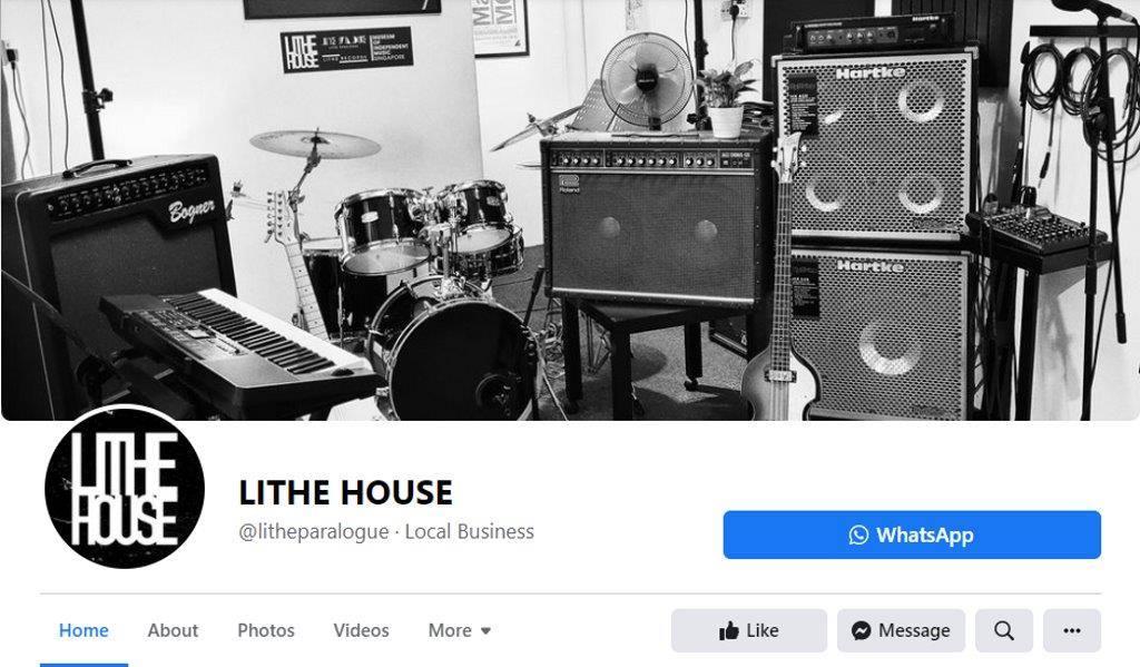 Lithe Studio Top Music Studios in Singapore