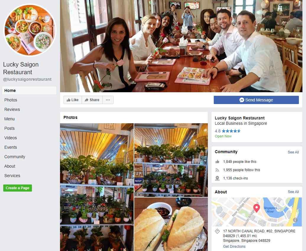 Lucky Saigon Top Vietnamese Food Restaurants in Singapore