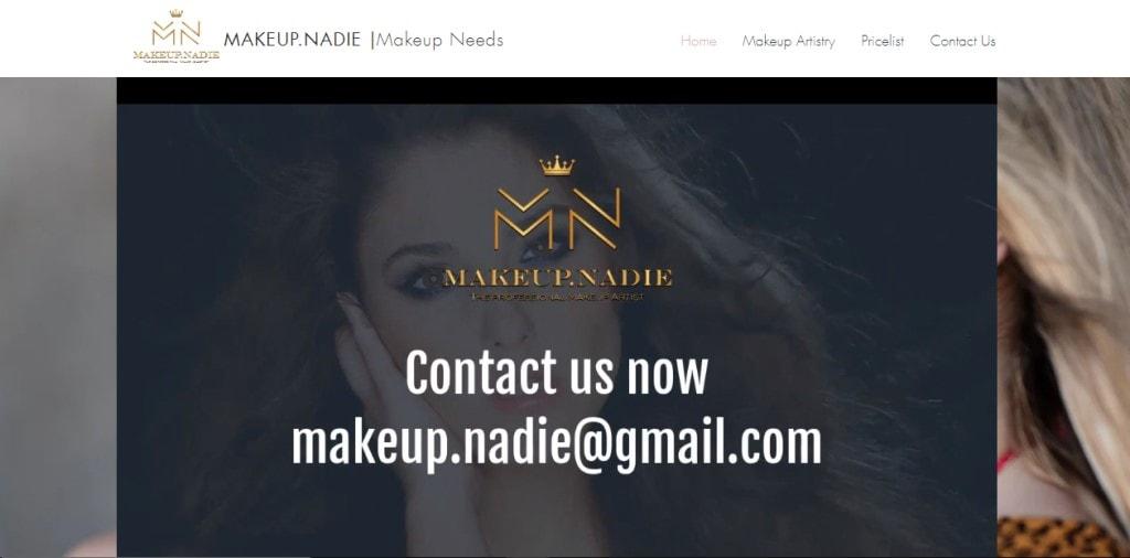 Makeup Nadie Top Bridal Makeup Studios in Singapore