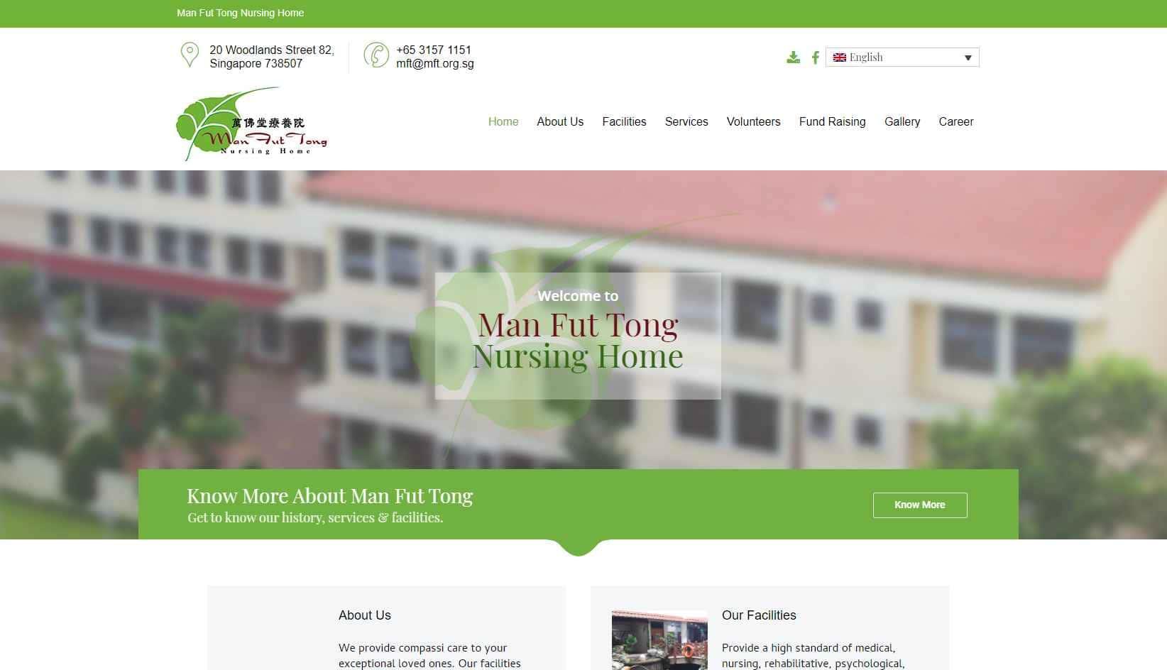 Man Fut Top Nursing Homes in Singapore