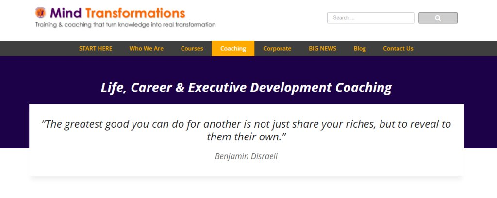 Mind Transformations Top Career Coaches in Singapore