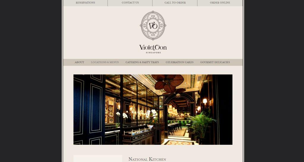 National Kitchen by Violet Oon Top Peranakan Restaurants in Singapore