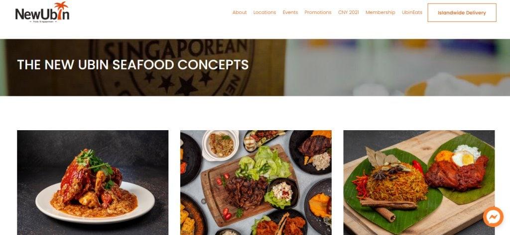 New Ubin Top Seafood Restaurants in Singapore