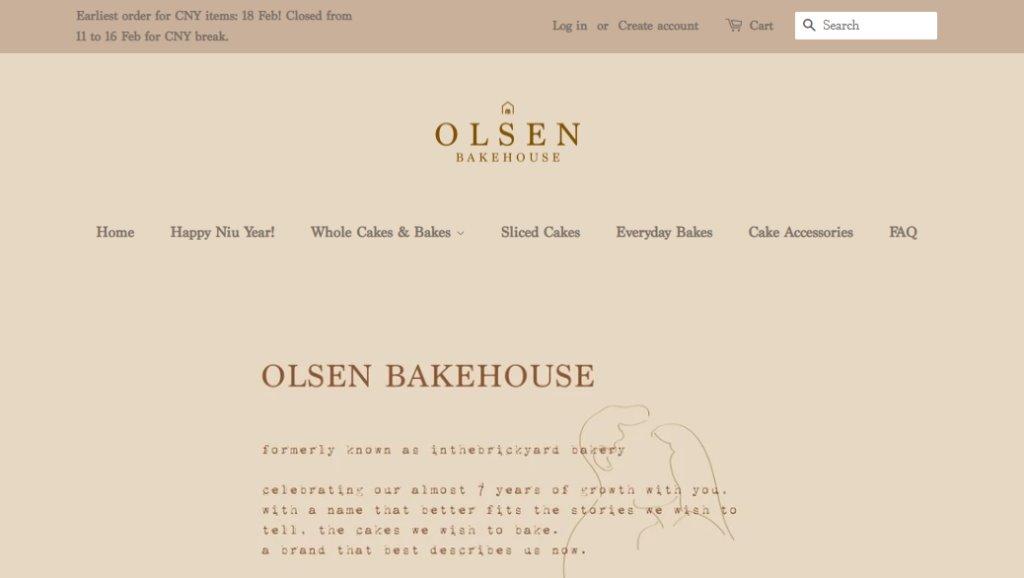 Olsen Bakehouse Top Wedding Cake Bakeries in Singapore