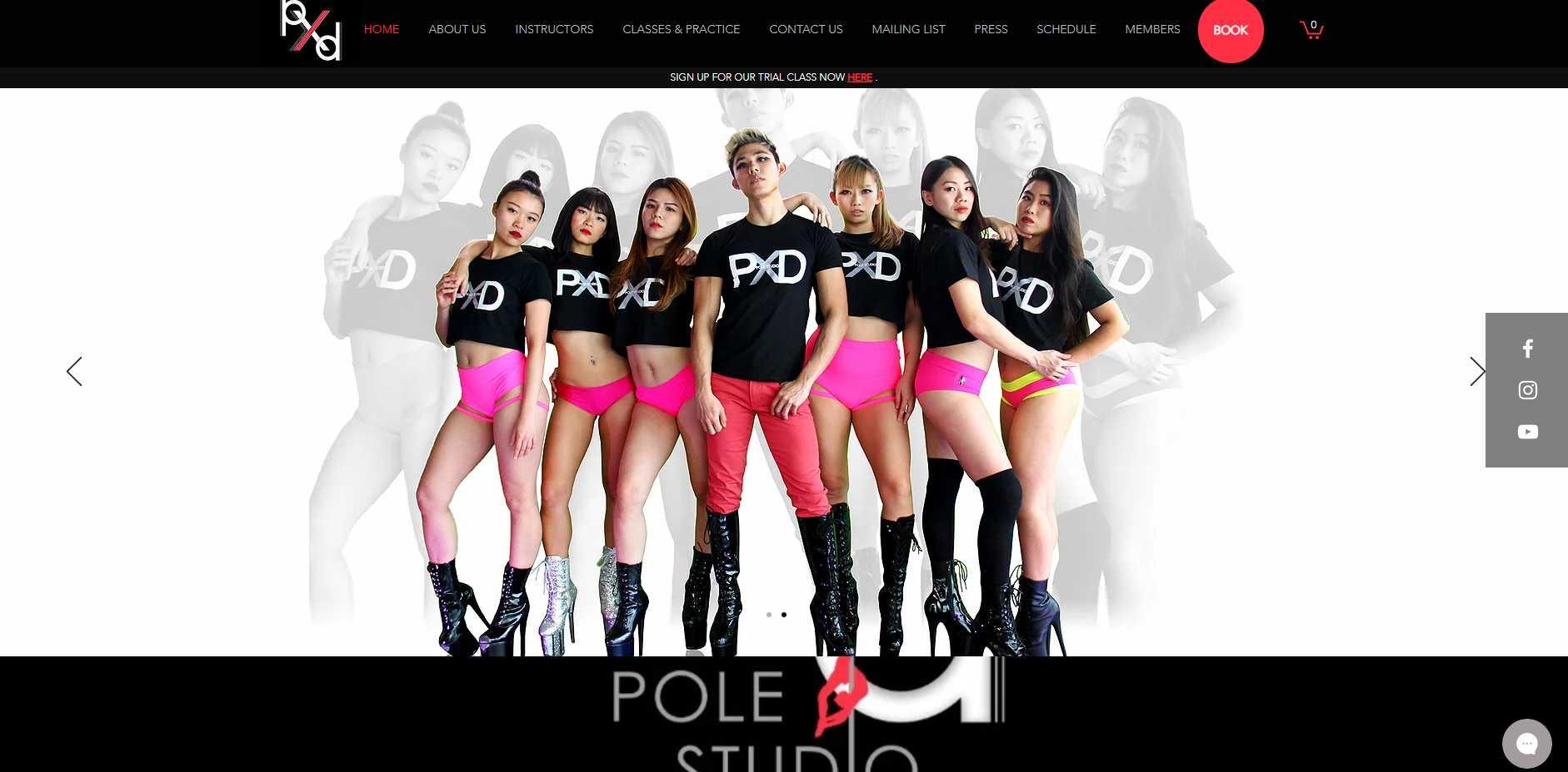 PXD Top Pole Dance Classes in Singapore
