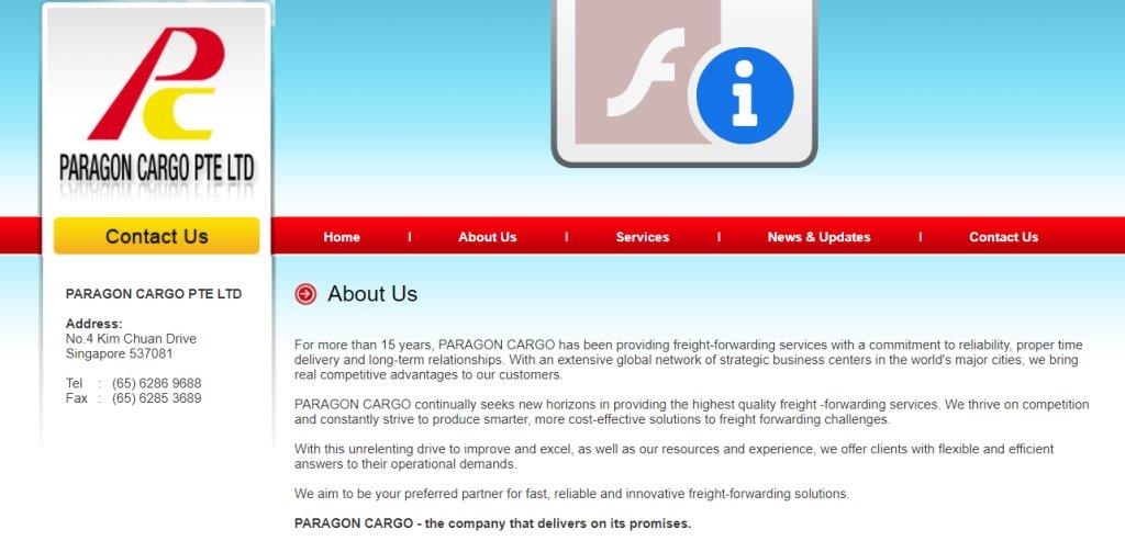 Paragon Cargo Top Freight Forwarding Companies in Singapore