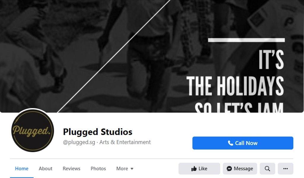 Plugged Studio Top Music Studios in Singapore