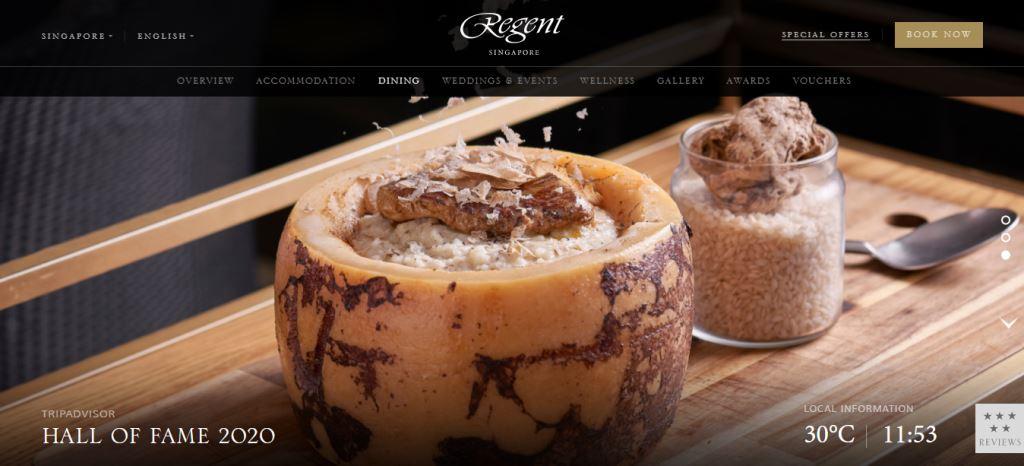 Regent Top Italian Restaurants In Singapore