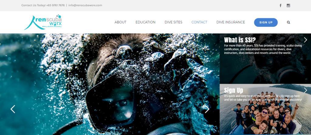 Ren Scuba Top Scuba Diving Schools in Singapore