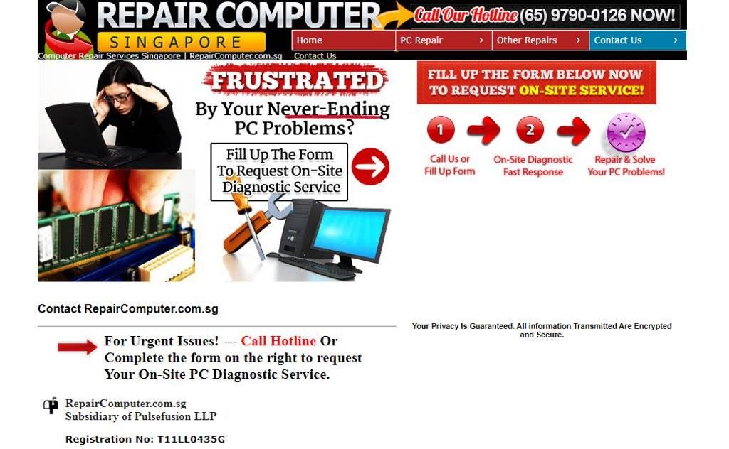Repair Computer Top Laptop Repair in Singapore