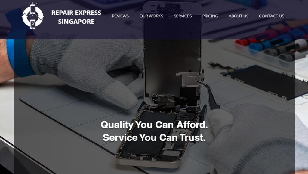 Repair Express Top Phone Repair Services in Singapore
