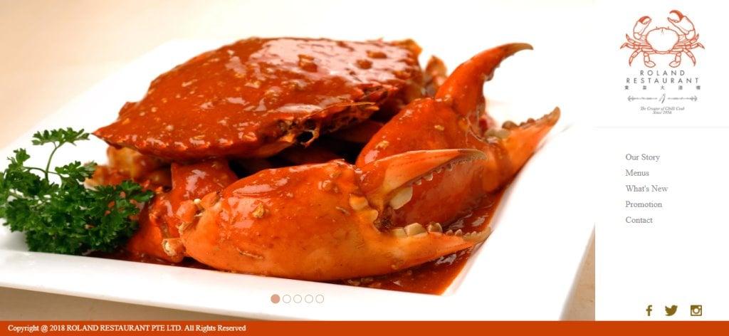 Roland Restaurant Top Seafood Restaurants in Singapore