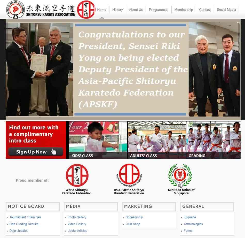 SKA Top Karate Classes in Singapore