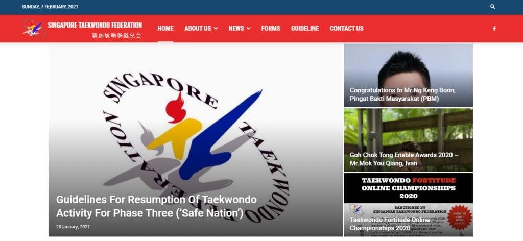 STF Sg Top Taekwondo Classes in Singapore
