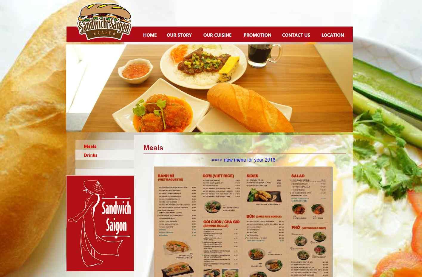 Sandwich saigon Top Vietnamese Food Restaurants in Singapore