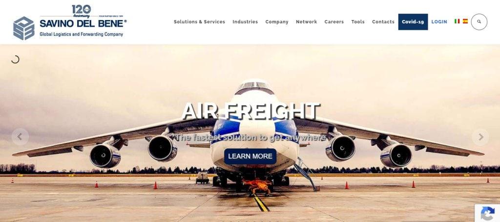 Savino del Bene Top Freight Forwarding Companies in Singapore