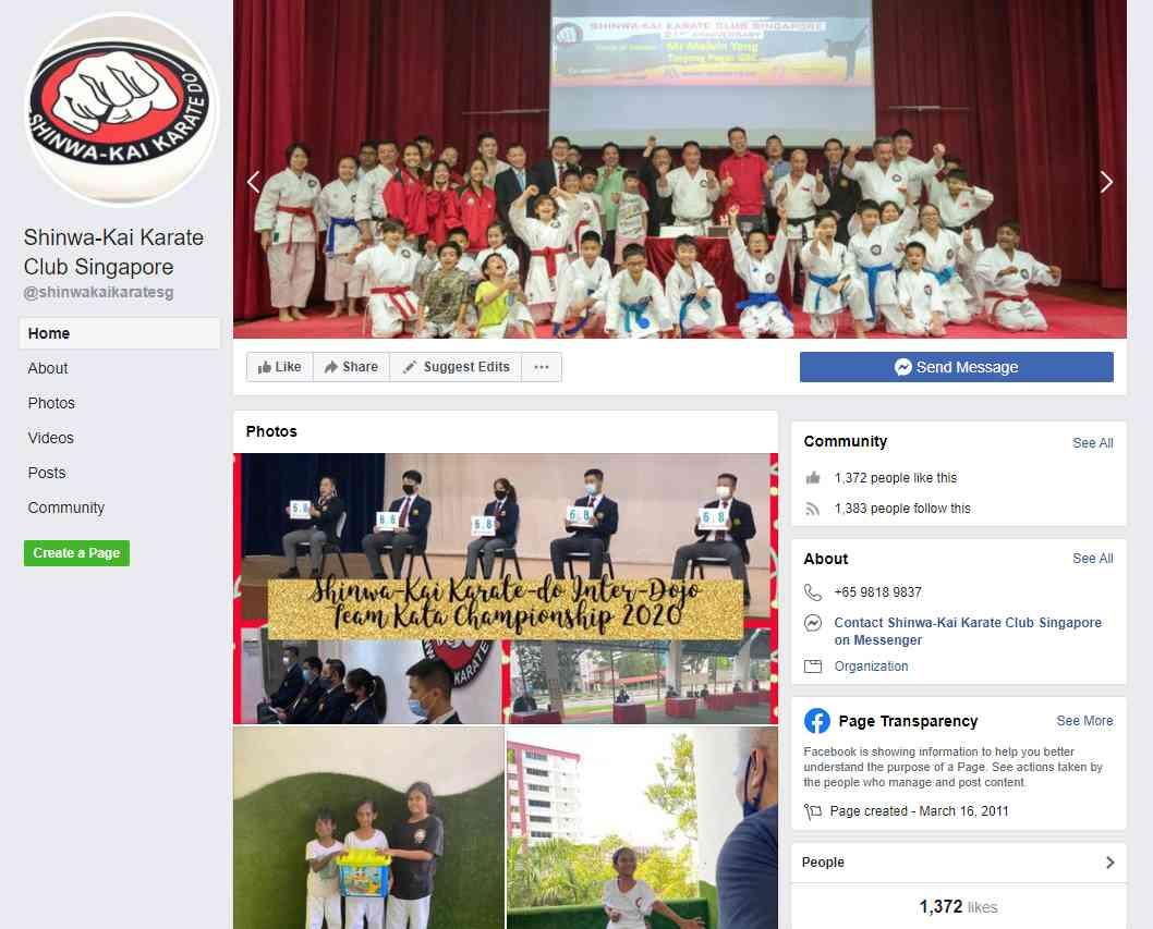 Shinwa Kai Top Karate Classes in Singapore