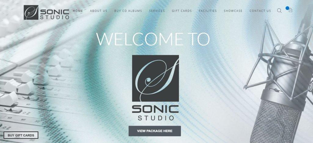 Sonic Studio Top Music Studios in Singapore