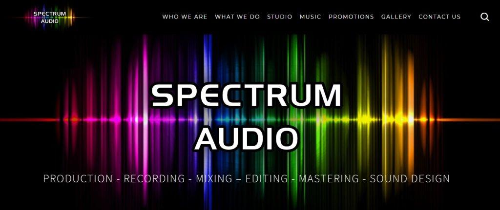 Spectrum Audio Top Music Studios in Singapore