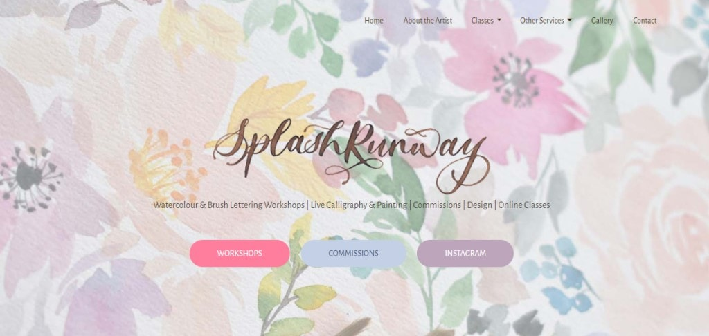 Splash Runway Top Calligraphy Courses in Singapore