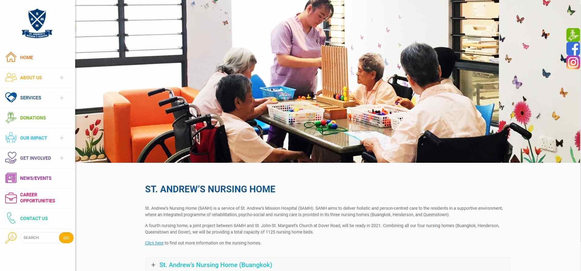 St. Andrews Top Nursing Homes in Singapore