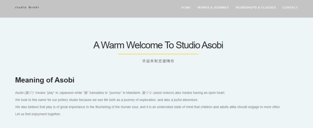 Studio Asobi Top Pottery Studios in Singapore