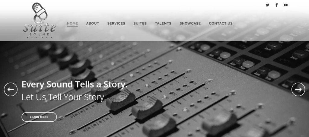 Suite Sound Top Music Studios in Singapore