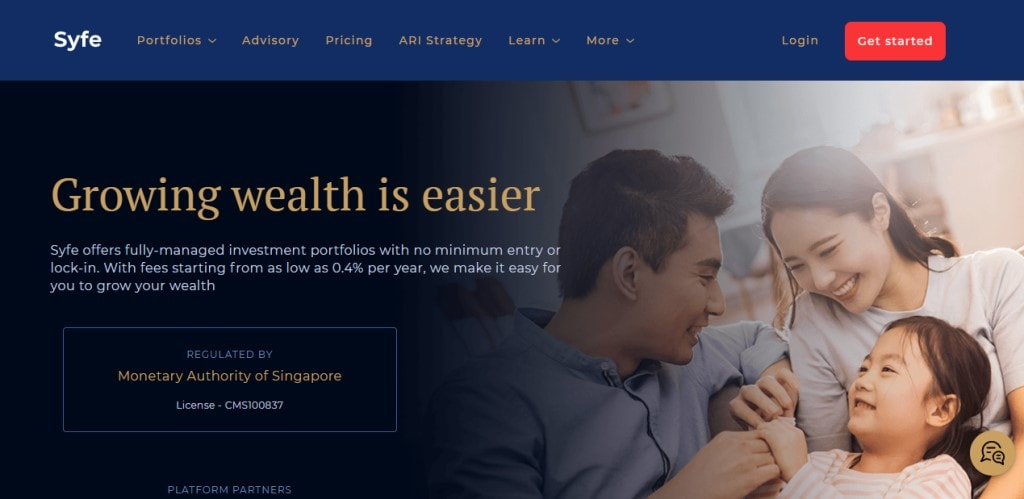 Syfe Top Stock Brokers in Singapore