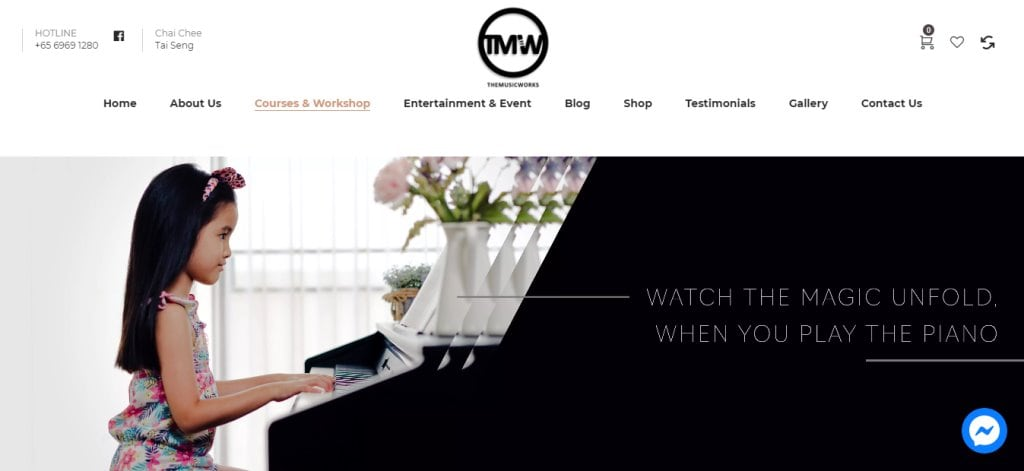 TMW Top Piano Lessons in Singapore
