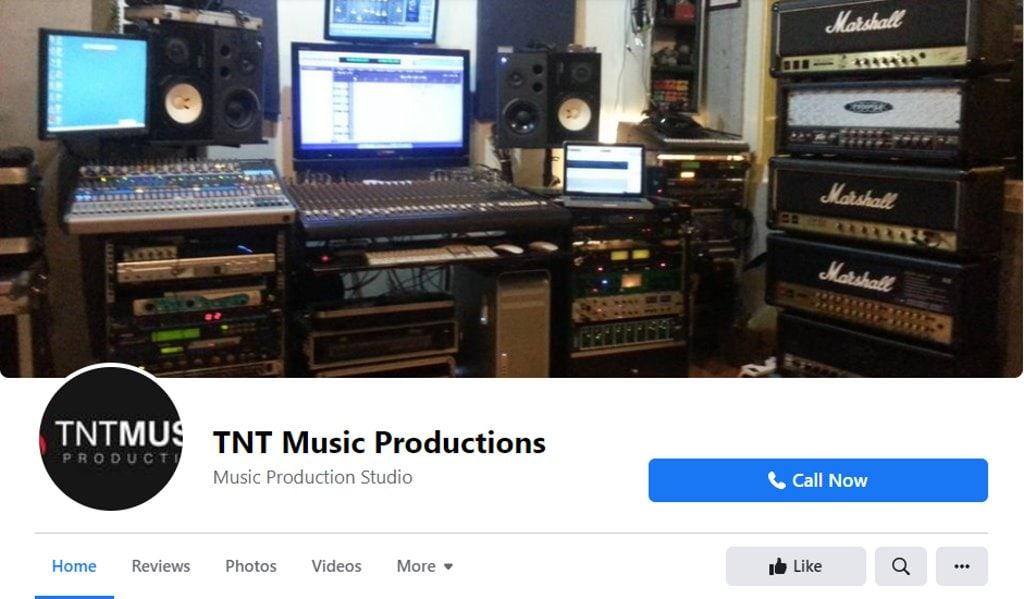 TNT Studio Top Music Studios in Singapore