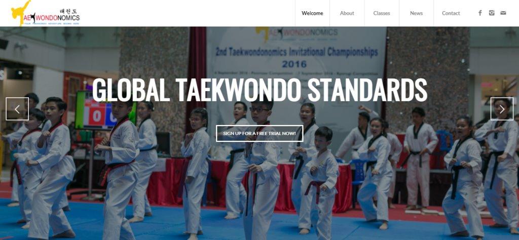Taekwondonomics Top Taekwondo Classes in Singapore