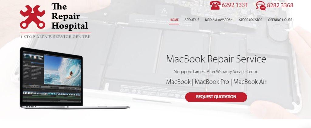 The Reapir Hospital Top Laptop Repair in Singapore