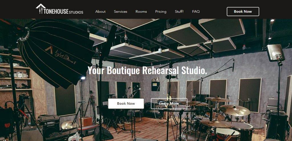 Tone House Top Music Studios in Singapore