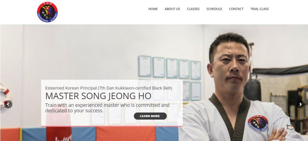 TopKTD Top Taekwondo Classes in Singapore