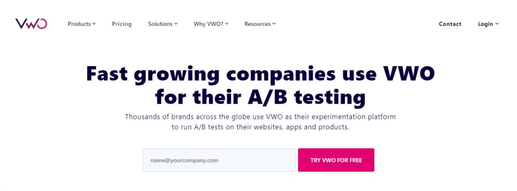 VWO Landing Page Optimisation in Singapore
