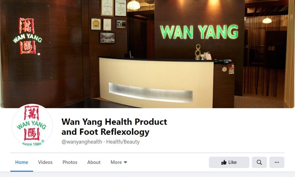 Wan Yang Top Foot Spas in Singapore