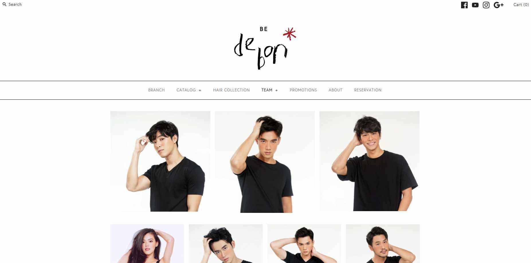 bedebon Top Korean Hair Salons in Singapore