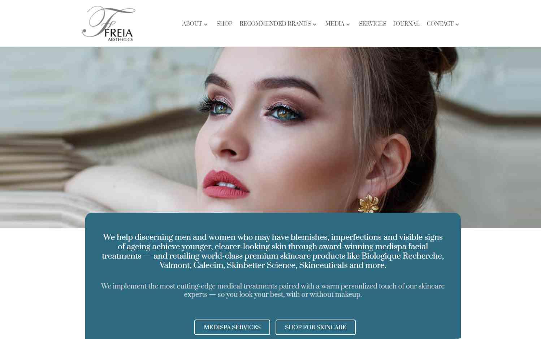 freia aesthetics Top Facial Salons in Singapore
