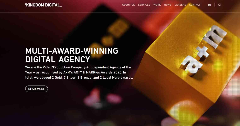 kingdom digital Top Media Agencies in Singapore