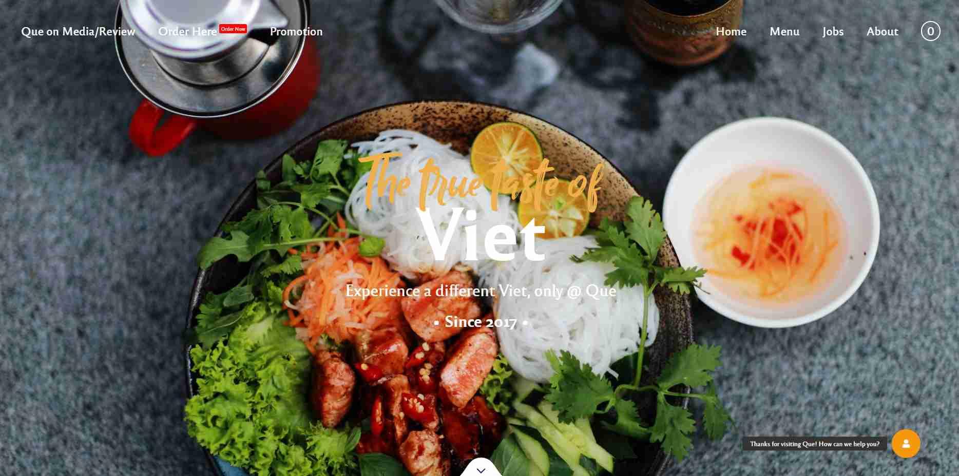 que Top Vietnamese Food Restaurants in Singapore