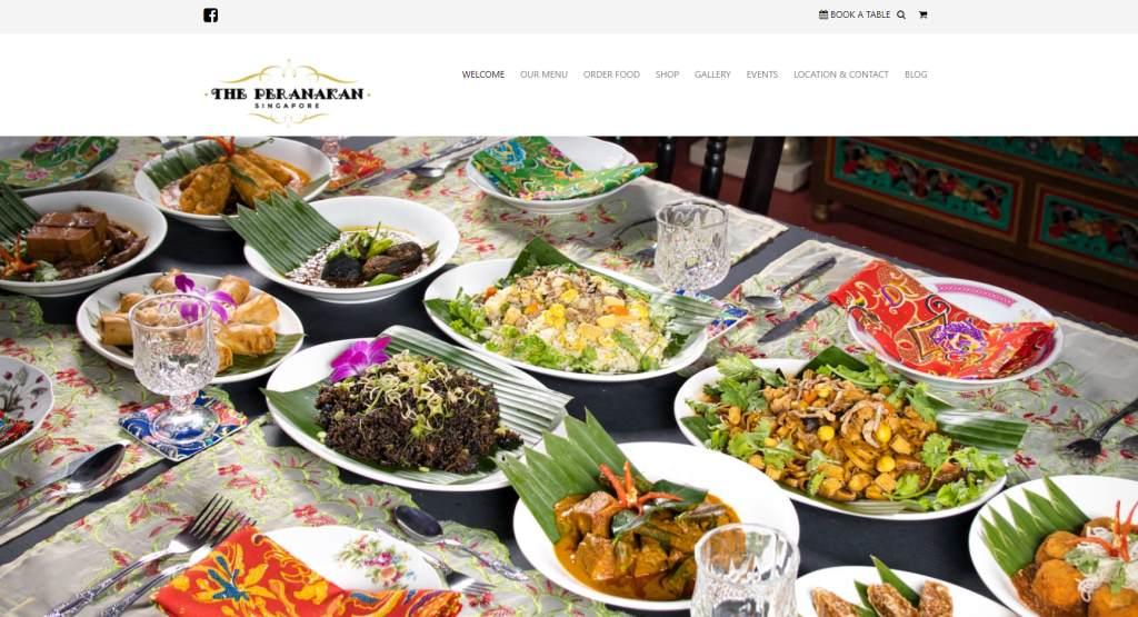 the peranakan Peranakan Restaurants Singapore