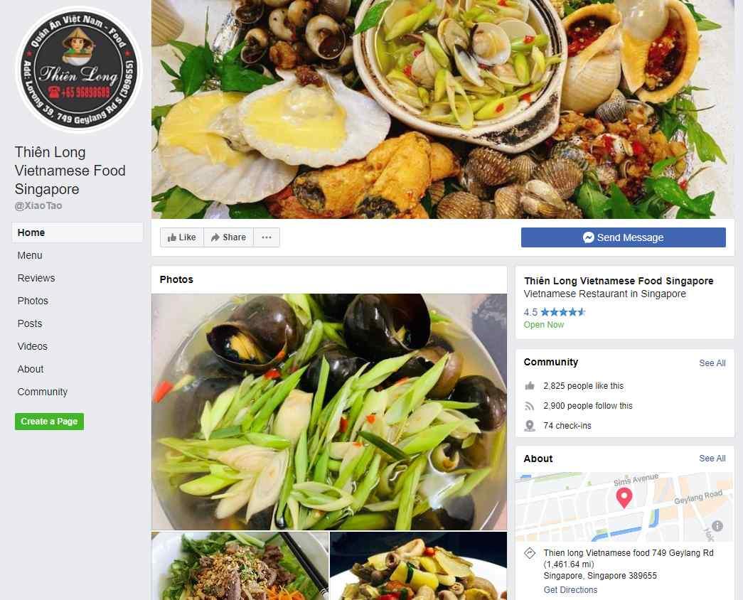 thien long Top Vietnamese Food Restaurants in Singapore