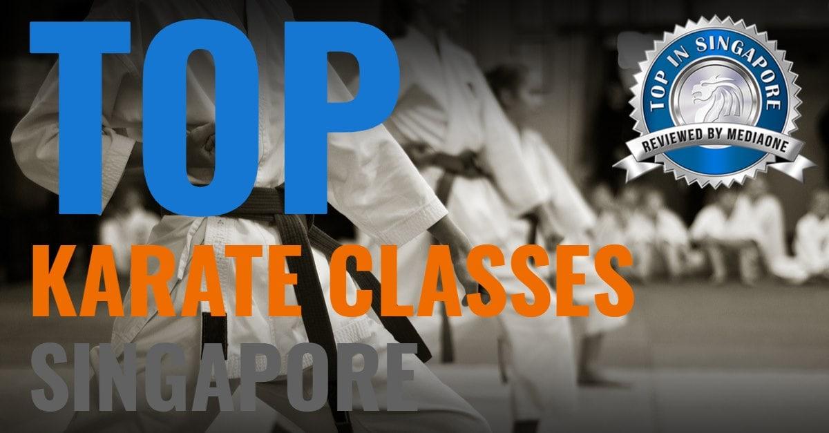 top karate classes singapore