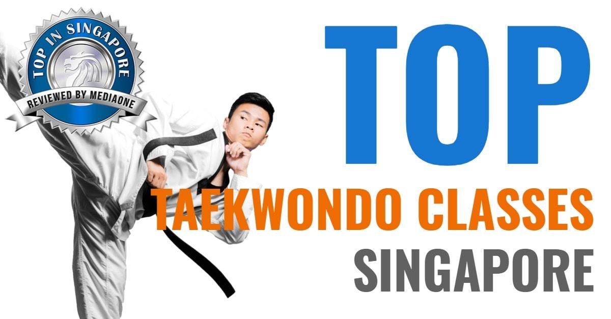 top taekwondo classes in singapore