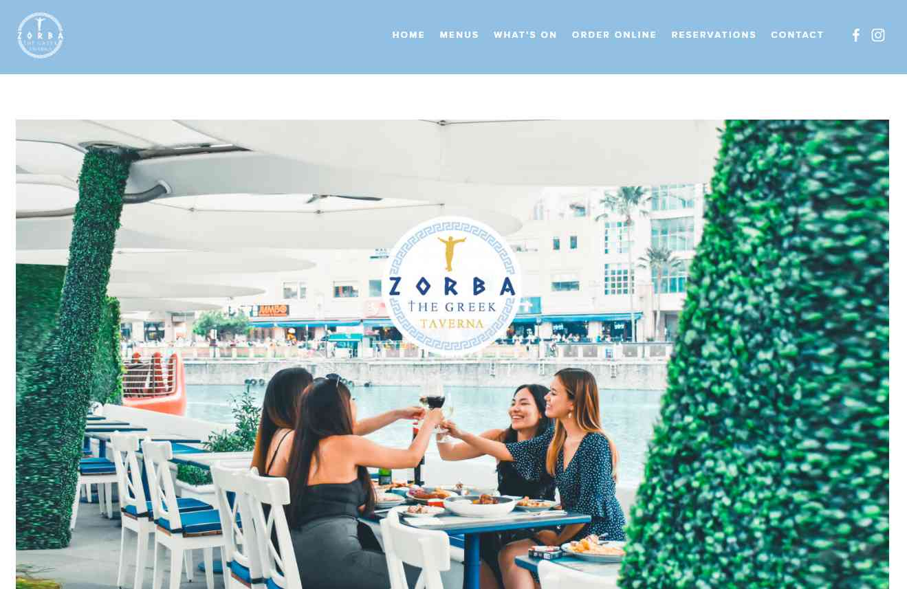 zorba Top Mediterranean Restaurants in Singapore