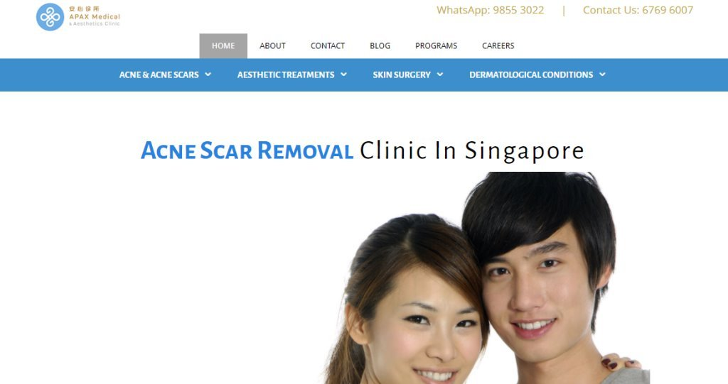 Apax Medical Top Chemical Peel Treatment Centres in Singapore