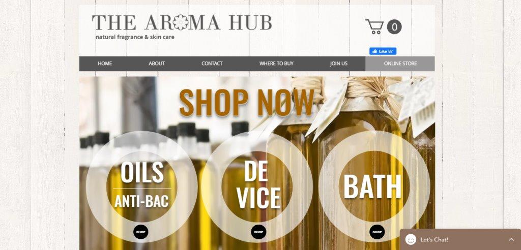 Aroma Hub Top Aromatherapy Retailers in Singapore