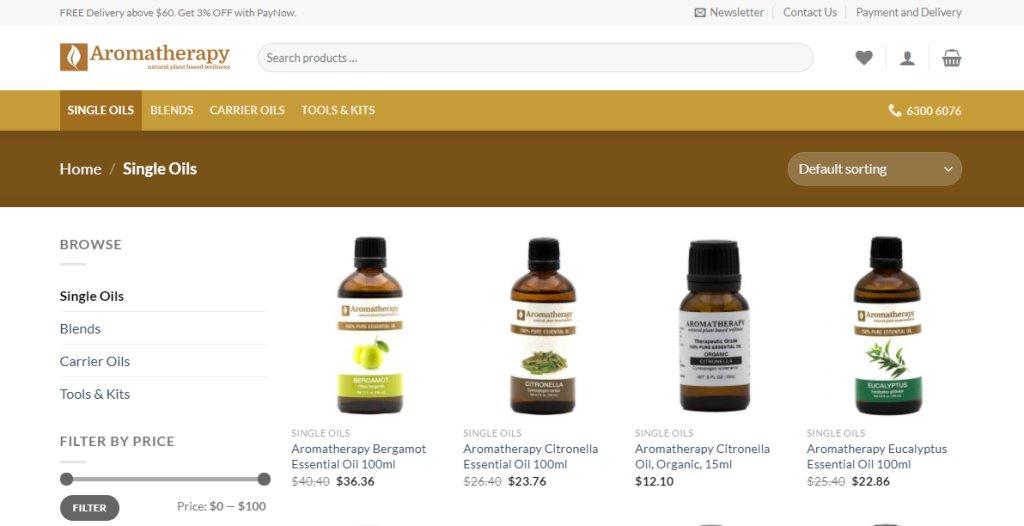 Aromatherapy SG Top Aromatherapy Retailers in Singapore